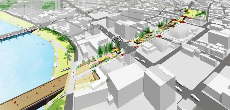 中央緑道と籠田公園再整備の基本設計を策定しました | 岡崎市 ...